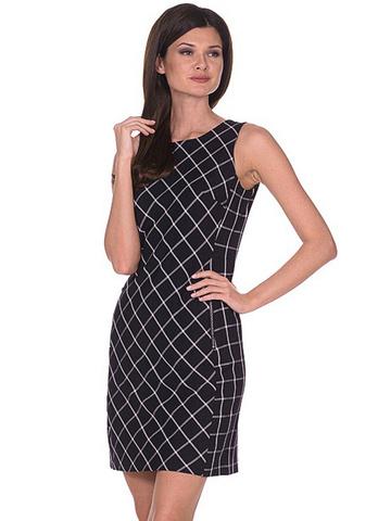 WD2691V платье женское, черное