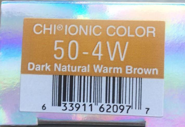 Крем-краска CHI Ионик 50-4 W 85 гр