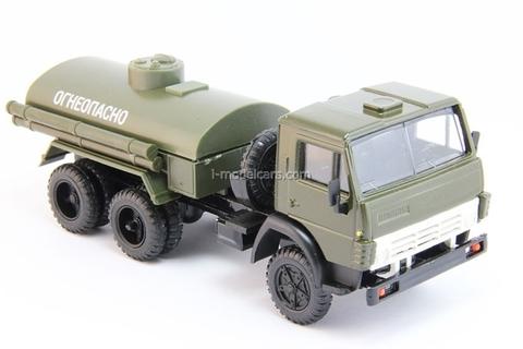 KAMAZ-5511 fuel tanker khaki Elecon 1:43