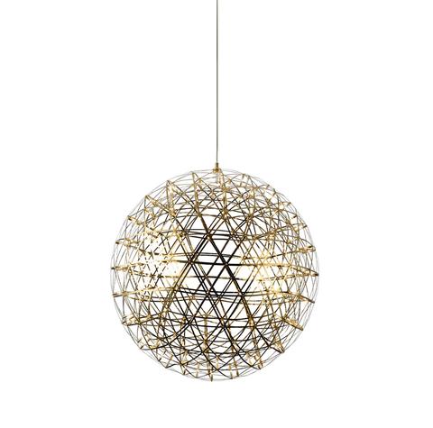 Подвесной светильник копия Raimond by Moooi (золотой, D 61 cm)