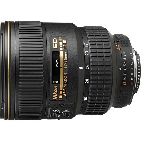 Объектив Nikon AF-S 17-35mm f/2.8D ED IF Black для Nikon