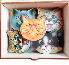 Мемо Коты, Smile decor