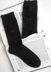Носки мужские (12 пар ) цвет черный арт.048