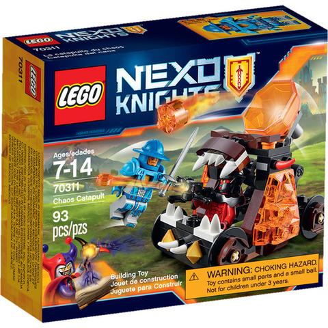 LEGO Nexo Knights: Безумная катапульта 70311 — Chaos Catapult — Лего Нексо Рыцари