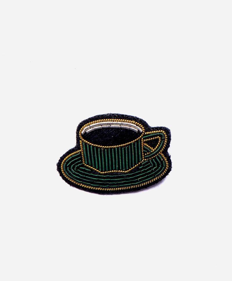 Брошь Cup of coffee