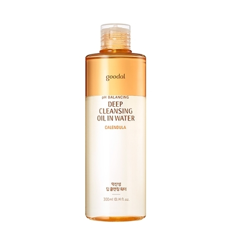 Гидрофильное масло Goodal Calendula pH Balancing Deep Cleansing Oil In Water 300ml