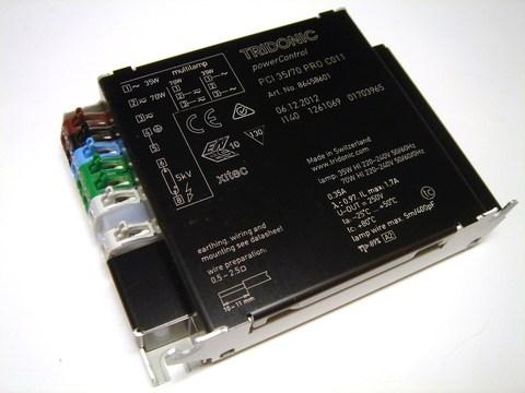 ЭПРА для металлогалогенных ламп 35/70W Tridonic PCI 35/70 PRO C011