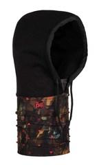 Капюшон-шарф из флиса Buff Hoodie Polar Rock Camo Multi