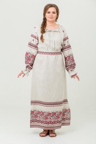 платье Женское счастье на небелёном