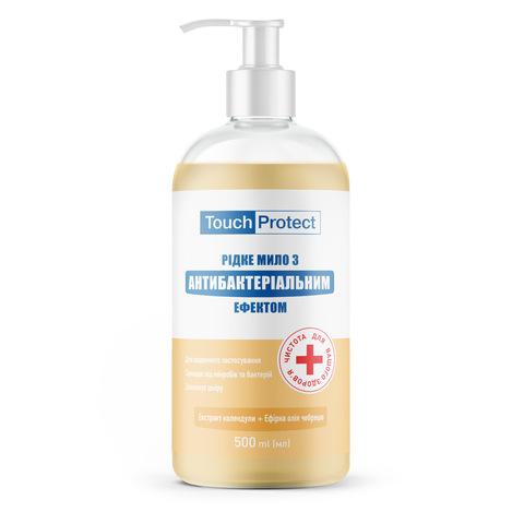Жидкое мыло с антибактериальным эффектом Календула-Чабрец Touch Protect 500 мл (1)