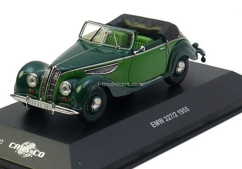 EMW 327 Cabriolet 1955 green CCC070 IST Models 1:43