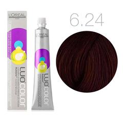 L'Oreal Professionnel Luo Color 6.24 (Перламутрово-коричневый) - Краска для волос