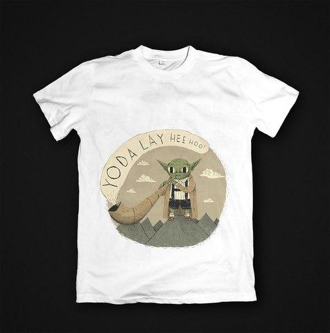 Футболка Yoda - L