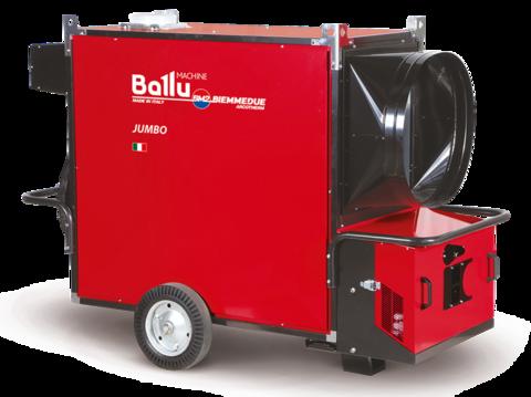 Теплогенератор мобильный - Ballu-Biemmedue Jumbo 110M (230V-1-50/60 Hz)