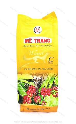 Вьетнамский молотый кофе Me Trang Chon, 500 гр., мягкая упаковка