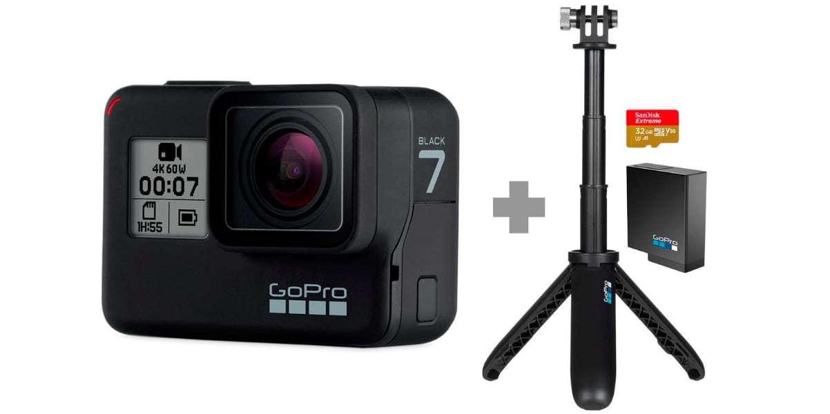 GoPro HERO7 Black Special Bundle (CHDRB-701) набор