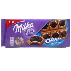 "Шоколад ""Milka"" молочный с печеньем ""Oreo"" 92 г"