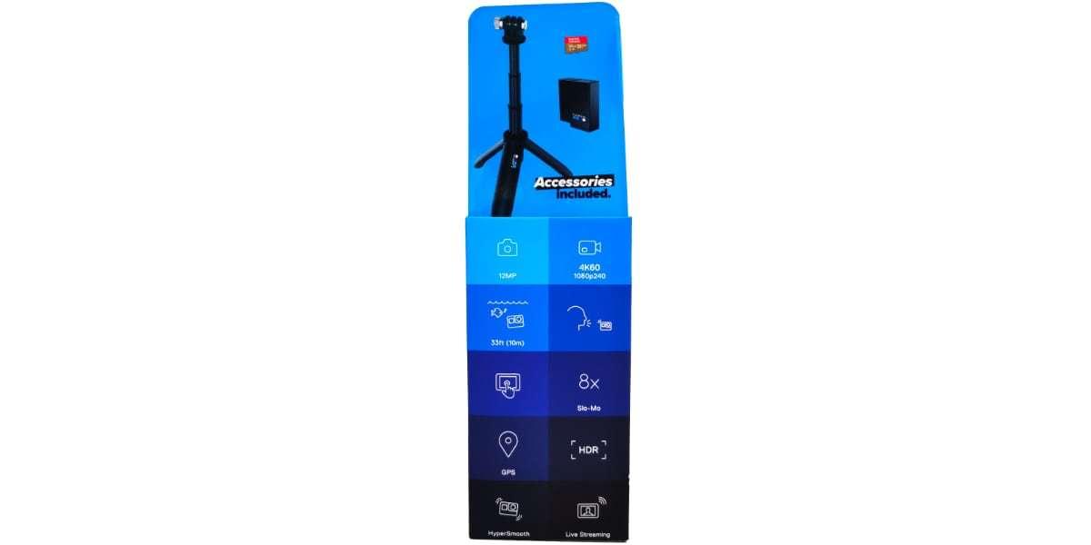 GoPro HERO7 Black Special Bundle (CHDRB-701) вид сбоку