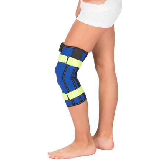С нерегулируемыми шарнирами Детский бандаж на коленный сустав с металлическими шарнирами t-8532.jpg
