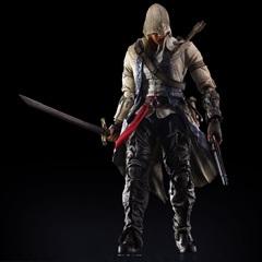 Ассасин Крид III фигурка Коннор (копия) — Assassin's Creed Connor Play Arts Kai (copy)