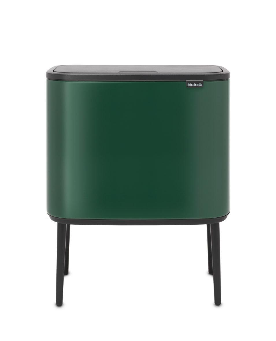 Мусорный бак Touch Bin Bo (36 л), Зеленая сосна, арт. 304163 - фото 1