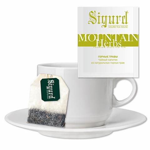Чай Sigurd Горные травы на чашку (30 пак)