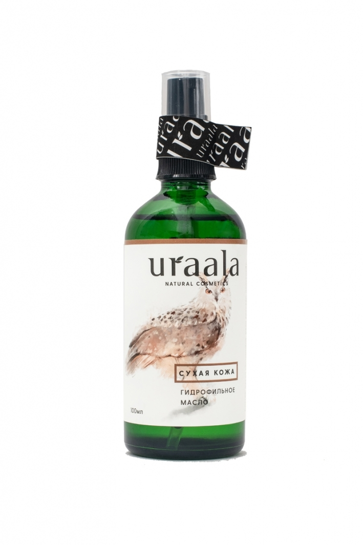 Гидрофильное масло для сухой кожи Ura'ala, 100мл