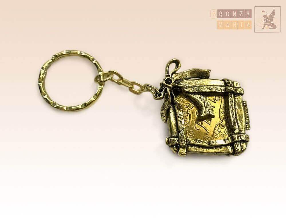 брелок Монетница Бантик