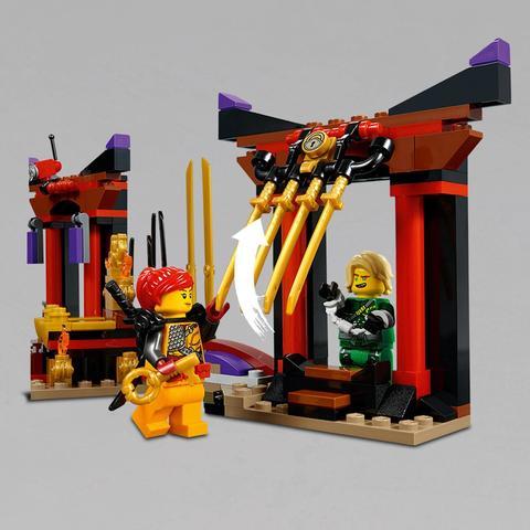 LEGO Ninjago: Решающий бой в тронном зале 70651 — Throne Room Showdown — Лего Ниндзяго