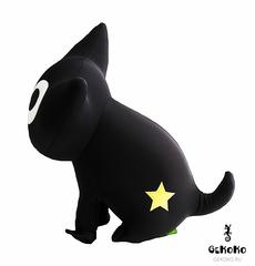 Подушка-игрушка антистресс «Котенок Лаки со звездой» 4