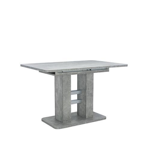 Стол раздвижной 80.530  Leset Гранд, бетон