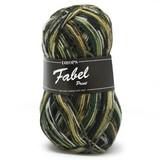 Пряжа Drops Fabel 542 зеленый