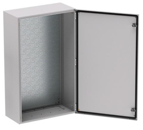 Корпус сварной навесной серии  ST  с М/П Размер: 600 x 600 x 250 мм (В х Ш х Г)