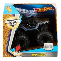 Hot Wheels Monster Jam Rev Tredz Soldier Fortune Black Ops