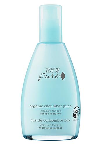 Органический эмульсионный тоник «Огуречный сок», 100% Pure