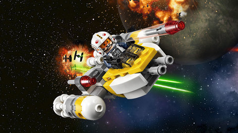 LEGO Star Wars: Микроистребитель типа Y 75162