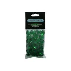 Набор зеленых прозрачных маркеров (30 штук)