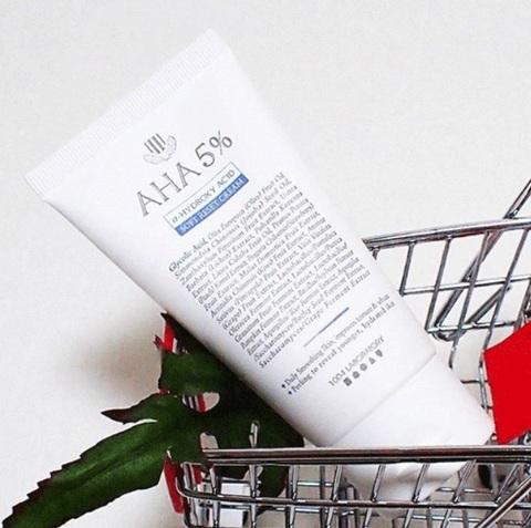 Крем с АНА 5%, 60 мл / 1004 Laboratory AHA 5% Soft Reset Cream