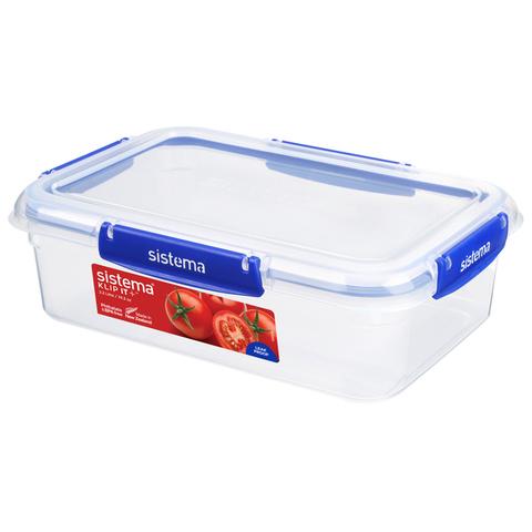 """Герметичный контейнер Sistema """"KLIP IT+"""" 2,2 л"""