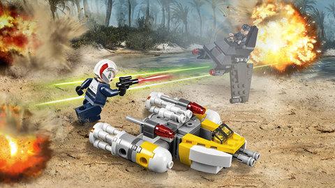 LEGO Star Wars: Микроистребитель типа Y 75162 — Y-wing — Лего Звездные войны Стар Ворз