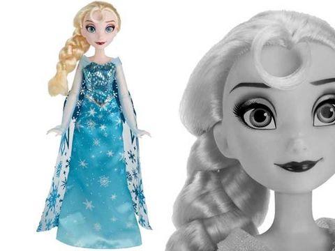 Эльза Холодное сердце, Начало коронации в Магии кукол