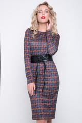 <p>Хит этой осени! Хочется просто раствориться в этой коллекции! Идеальное платье приталенного силуэта, рукав длинный. (пояс в стоимость не входит)</p> <p>&nbsp;</p>
