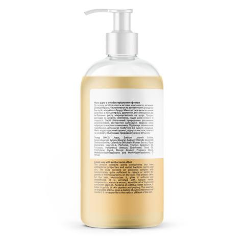 Жидкое мыло с антибактериальным эффектом Календула-Чабрец Touch Protect 500 мл (3)