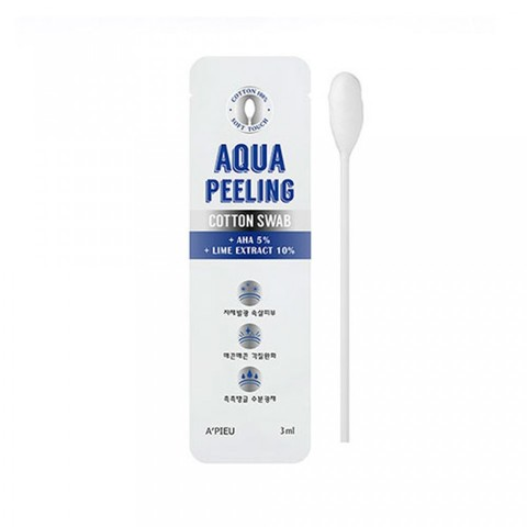 APIEU Aqua Peeling Cotton Swab (Mild) 3ml