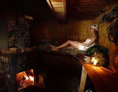 Банная церемония в Мягкой бане для одного гостя