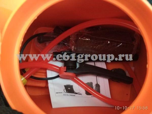 Опрыскиватель электрический ранцевый Комфорт (Умница) ОЭ-8л-МИНИ с регулятором мощности интернет магазин