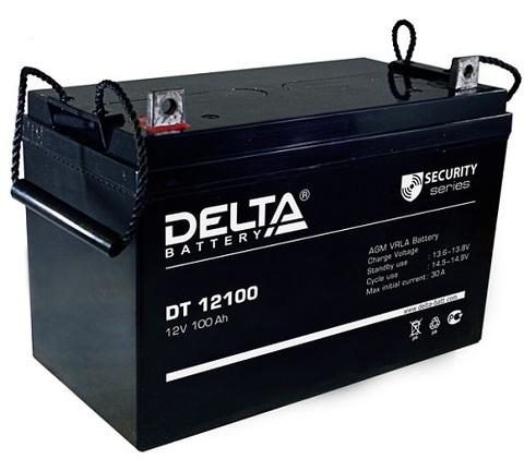 DT 12100 аккумулятор 12В/100Ач Delta