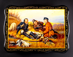 Набор хрустальных лафитников «Охотничьи традиции», фото 3