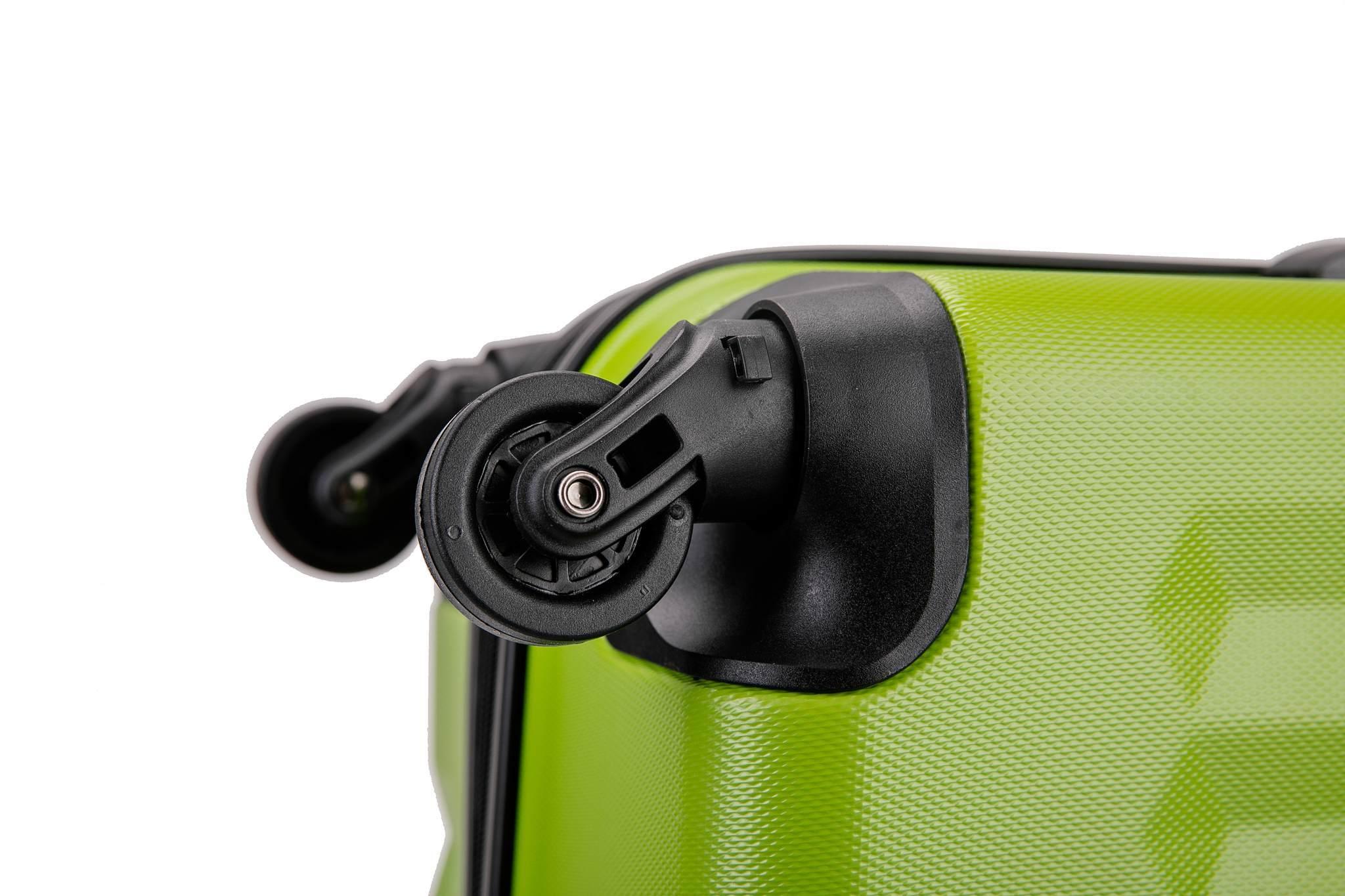 Чемодан со съемными колесами L'case Phuket-20 Зеленый ручная кладь (S)