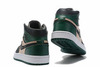 Air Jordan 1 High 'Black/Green/Pink'